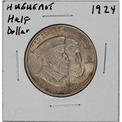 1924 Huguenot-Walloon Tercentenary Commemorative Half Dollar Coin