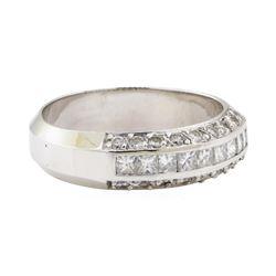 1.00 ctw Diamond Ring - 18KT White Gold