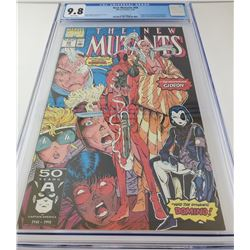 The New Mutants #98 by Marvel Comics