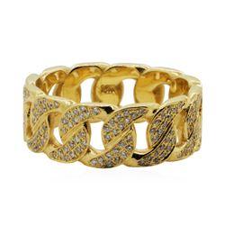 1 ctw Diamond Band - 14KT Yellow Gold