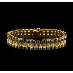 3.50 ctw Diamond Bracelet - 14KT White Gold