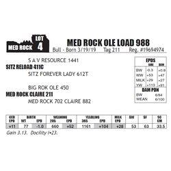 MED ROCK OLE LOAD 988
