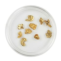 Lot of Gold Nuggets 3.40 grams Total Weight