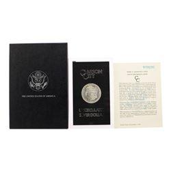 1882-CC $1 Morgan Silver Dollar Coin GSA Hoard Uncirculated w/ Box & COA