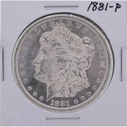 1881 $1 Morgan Silver Dollar Coin