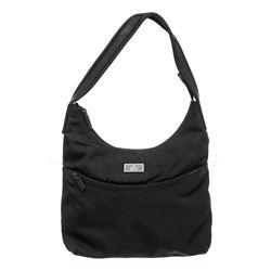 Gucci Black Nylon Shoulder Bag