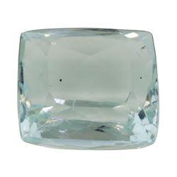 5.97 ct. Natural Cushion Cut Aquamarine