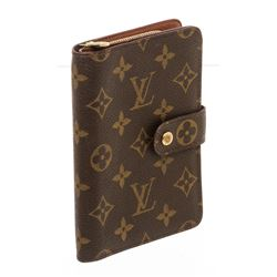 Louis Vuitton Monogram Canvas Leather Porte-Papier Zippe Wallet