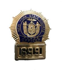 NYPD Blue Officers Badge