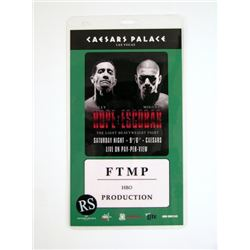 Southpaw Boxing Event Production Pass Pass Movie Props