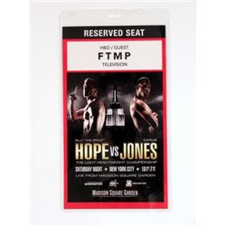 Southpaw Boxing HBO Guest Pass Movie Props