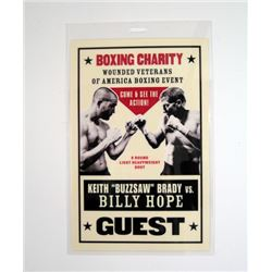 Southpaw Boxing Event Guest Pass Movie Props
