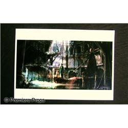 Underworld: Rise of the Lycans Artwork Movie Memorabilia