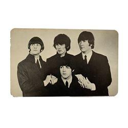 Beatles 1966 Postcard Signed