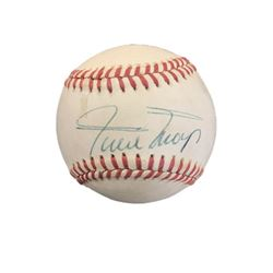 Official League Baseball signed by Willie Mays
