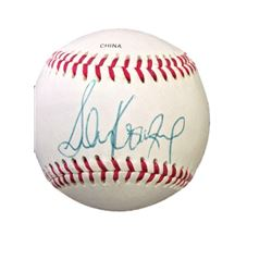 Official League Baseball signed by Sandy Koufax