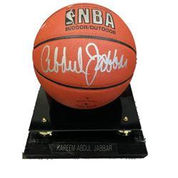 Kareem Abdul-Jabbar Signed Basketball
