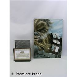Star Wars  Chewbacca Hoth Encounter by Chris Wahl on Canvas
