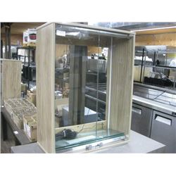 29 INCH WALL HUNG DISPLAY CASE