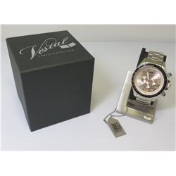 Vestal Chronograph Water Resistant Watch w/ Tag & Box