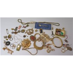 Misc Jewelry: Chokers, Rope Chains, Bracelet, Pendants, Brooches, Pins, etc