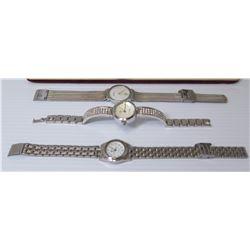 Qty 3 Watches: Falcon, Geneva & Skagen Denmark