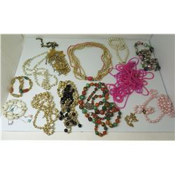 Misc Necklaces - Faux Pearls, Semiprecious Stones, Beads, Metallic, etc