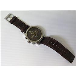 Nixon 'Keep It Fresh' The 48 20 Chrono Watch w/ Leather Band