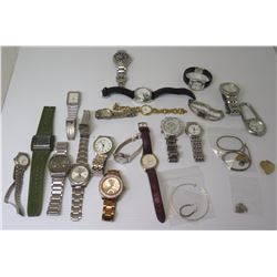 Misc Watches - Pierre Cardin, Michael Kors, Christiano Domani, Swiss Army, Decade, Fossil, Aceut Jap