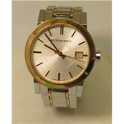 Burberry BU9105 Watch, Swiss Made, Sapphire Crystal 31400 Stainless Steel
