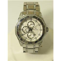 Bulova C835180 Quartz Stainless Steel Water Resistant Watch