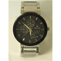 Bulova B1 Quartz Watch, Stainless Steel Water Resistant