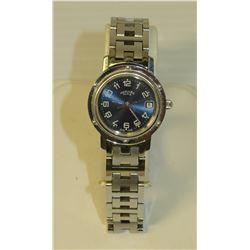 Hermes Paris CL4.10 Ladies Watch, Swiss Made, Stainless Steel 3758/2
