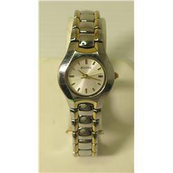 Bulova 98T52 Wrist Watch, Stainless Steel Water Resistant 20998490