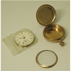 Elgin J Boss Pocket Watch (Disassembled), Marked 7393824