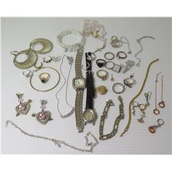 Misc Jewelry - Link Bracelets, Rings, Earrings, Watches, etc