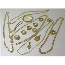 Misc Jewelry - Link Neck Chains, Men's Rings, Bracelet, Pendants, etc