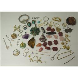 Misc Jewelry - Semi-Precious Stone Pendants, Bracelets, Rings, Earrings, Loose Stones, etc