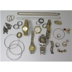 Misc Jewelry - Watches, Rings, Bracelets, Neck Chains, Earrings, etc