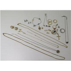Misc Jewelry - Rope & Link Neck Chains, Bracelets, Earrings, Rings, Pendants, etc