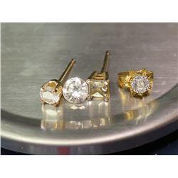Random Jewelry w/Small Diamonds and Single Loose Diamond