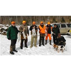 Maine Snowshoe Hare hunt
