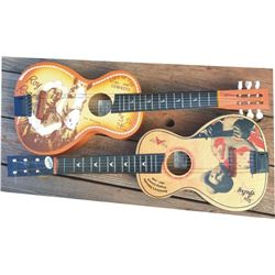 Roy Rogers and Gene Autry kids size guitars