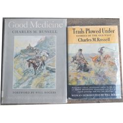 2 Charlie Russell art and history books