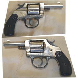 US revolver .32 nickel plated