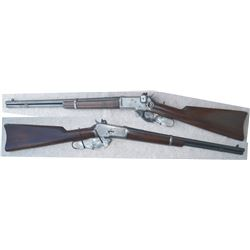 Winchester 1892 25.20 wcf SRC, #76178 mfg 1915, with lyman sights, excellent condition
