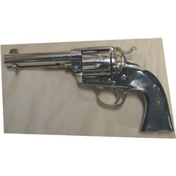 """Colt Bisley  38.40, 4 ¾"""" barrel, good bore #242450 mfg 1903, black pearl grips, appears to be factor"""