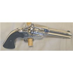 """Colt Bisley 32.20 4 3/4"""" barrel #31152, appears to be factory redone, nickel plated, great condition"""