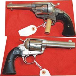 Colt Bisley 38.40 nickel plated, good condition, #272213 mfg 1903