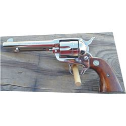 Colt .44 special single action, renickeled, #330301, nice condition